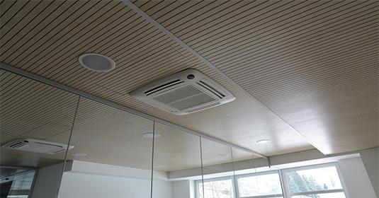 akustik klasik tavan kaplama panelleri