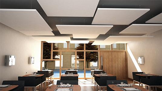 kanopi asma tavan paneli akustik panel