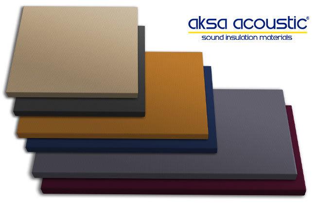 akustik kumaş kaplı ses yalıtım panelleri