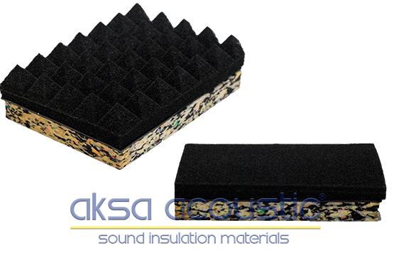 akustik bariyerli ses yalıtım sünger fiyatları