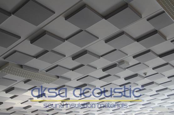 akustik basotect düz süngerleri