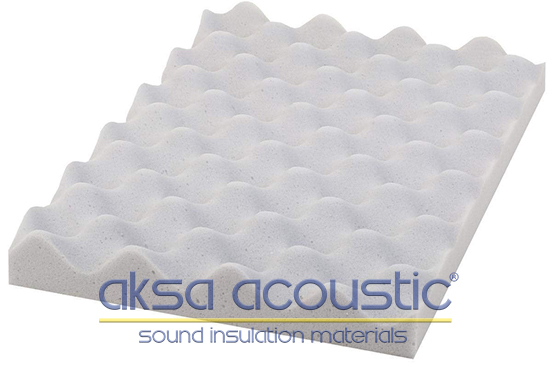 akustik basotect yumurta süngeri