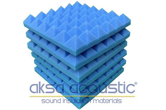 akustik piramit sünger m2 fiyatları