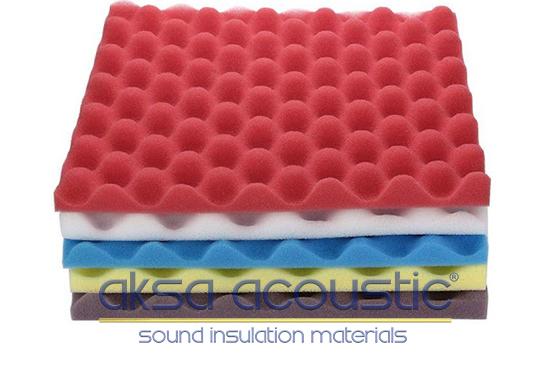 akustik ses yalıtım yumurta süngeri