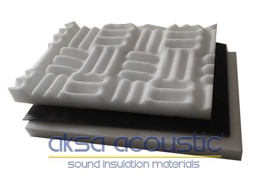 bariyerli akustik süngerler basotect