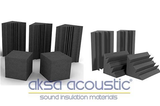 dekoratif akustik ses yalıtım süngerleri